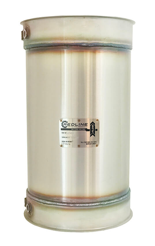 Redline Emissions Products Caterpillar C7 DPF (305-4565 / RED 52969)