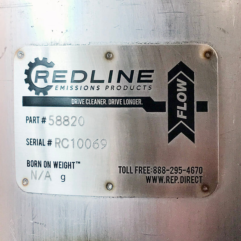 Redline Emissions Products Cummins ISX DOC / Catalyst (4969721NX / RED 58820)