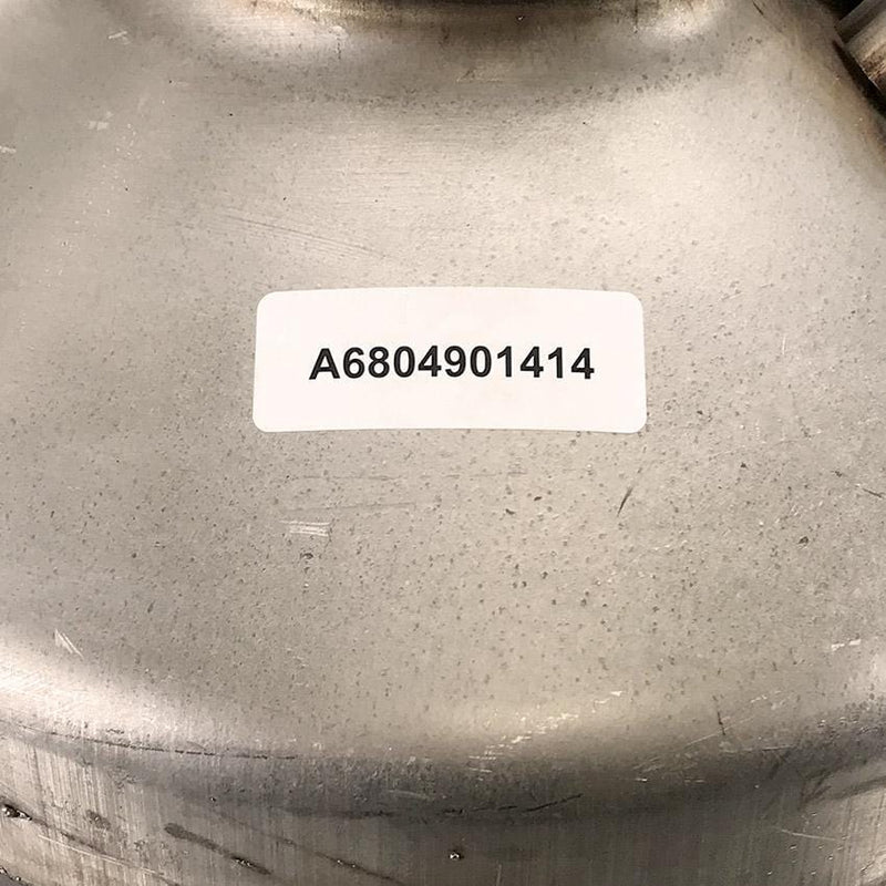 OEM DETROIT-MERCEDES DOC CATALYST / A6804901414 label