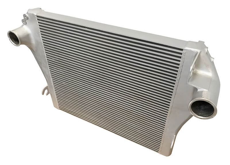 Redline Emissions Products OEM Mack / Volvo Charge Air Cooler (OEM 21504544 / RED RL0103) top view