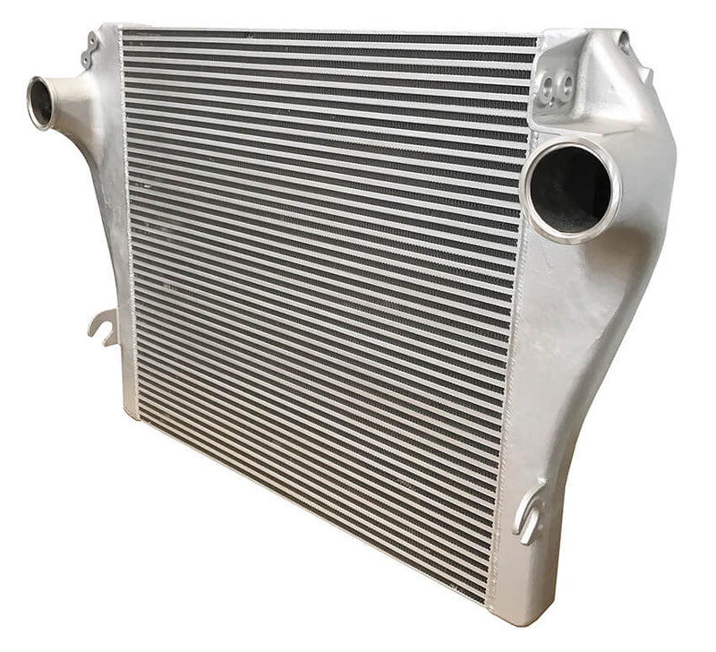 Redline Emissions Products OEM Mack / Volvo Charge Air Cooler (OEM 21504544 / RED RL0103) side view