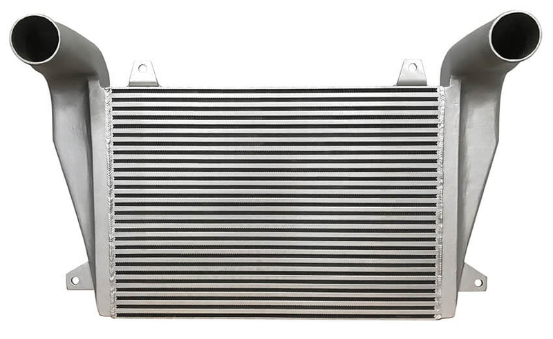 Redline Emissions Products OEM Freightliner Charge Air Cooler (OEM 4863900001 / RED RL0206) front view