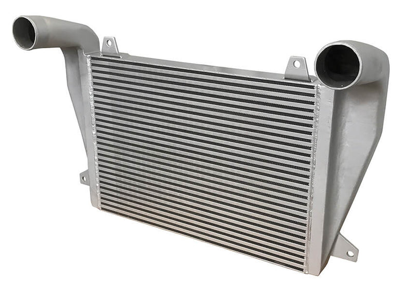 Redline Emissions Products OEM Freightliner Charge Air Cooler (OEM 4863900001 / RED RL0206) top view