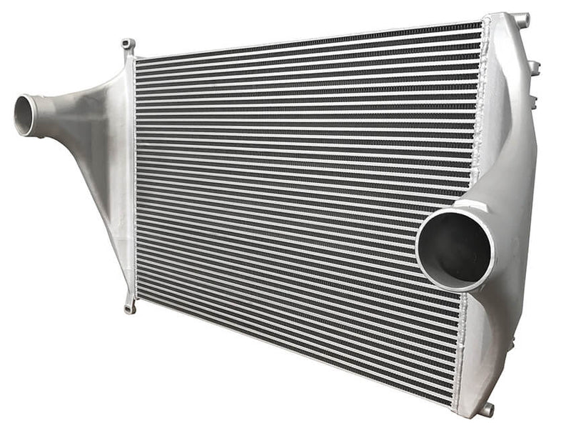 Redline Emissions Products OEM Freightliner Charge Air Cooler (OEM A0519502000 / RED RL0211) side view