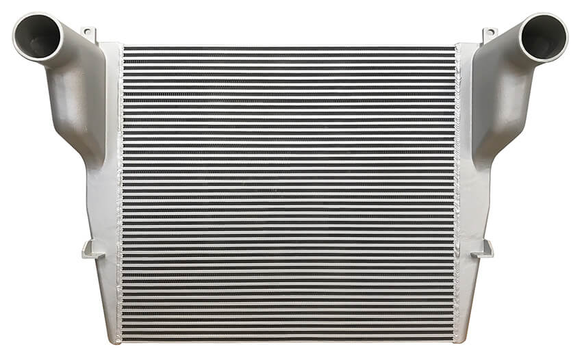 Redline Emissions Products OEM Peterbilt Charge Air Cooler (OEM F316011 / RED RL0307) front view