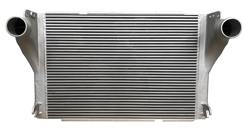 Redline Emissions Products OEM Peterbilt / Kenworth Charge Air Cooler (OEM N4095001 / RED RL0309) front view