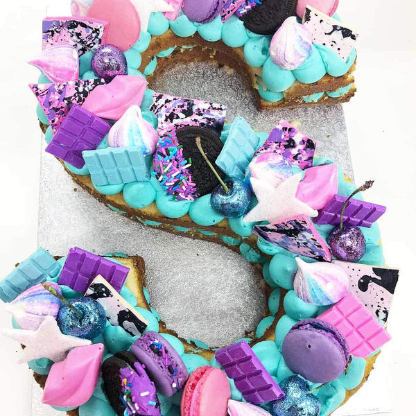 LOADED LETTER CAKES
