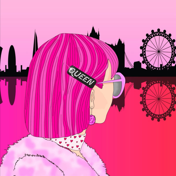 QUEEN OF LONDON PRINT