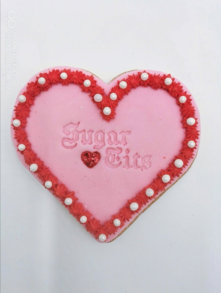 SUGAR TITS POST BOX COOKIE