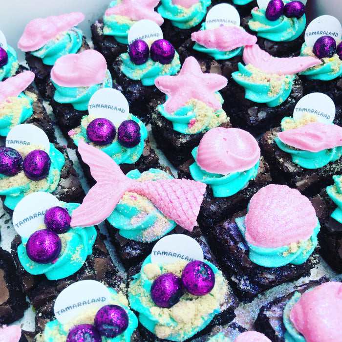GLITTER BOMB BROWNIES