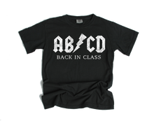 AB/CD BACK IN CLASS DISTRESSED TEE