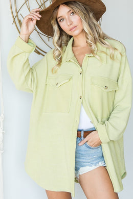 THE LIME GREEN SHACKET