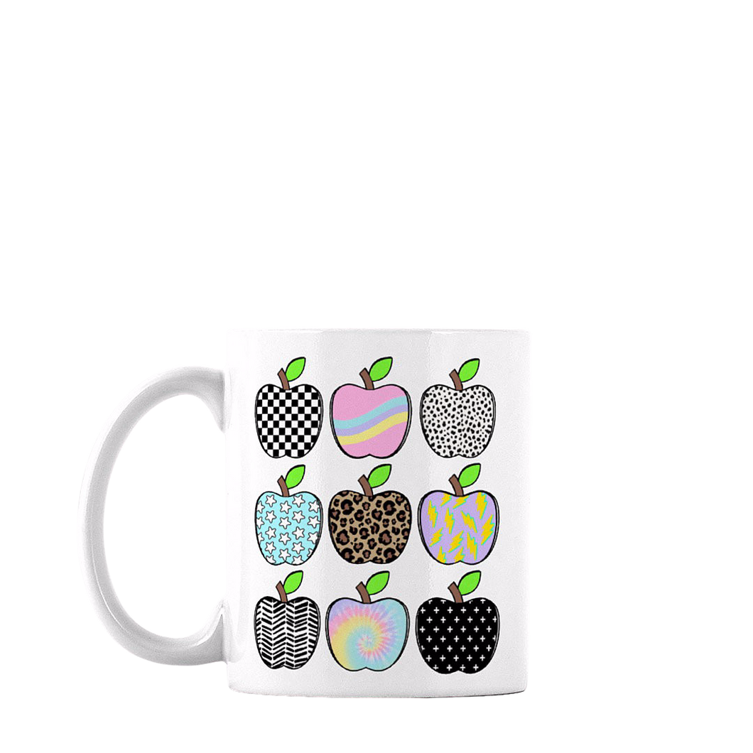 PASTEL TEACHER COFFEE MUG