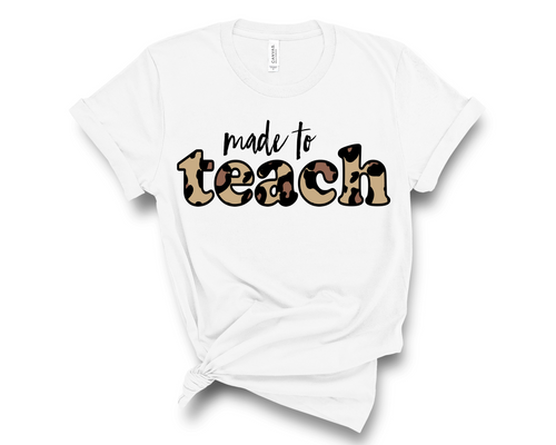 PREORDER Leopard Made to Teach Tee