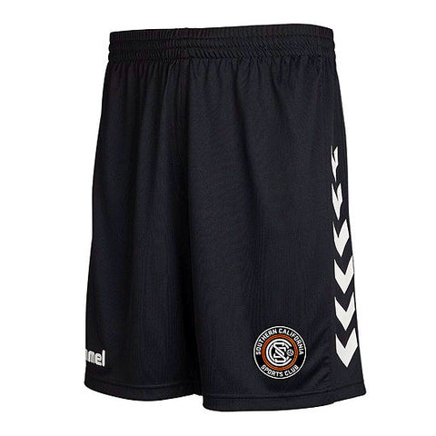 Hummel Black SoCal SC Shorts