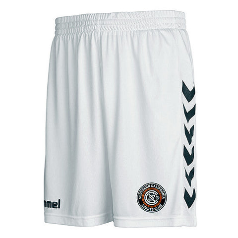Hummel White SoCal SC Shorts