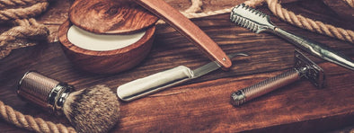 Wet shaving basics: razors, brushes & creams
