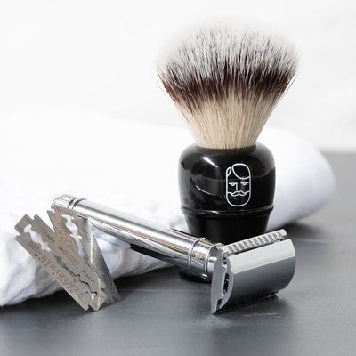 Double Edge Razor and Shaving Brush
