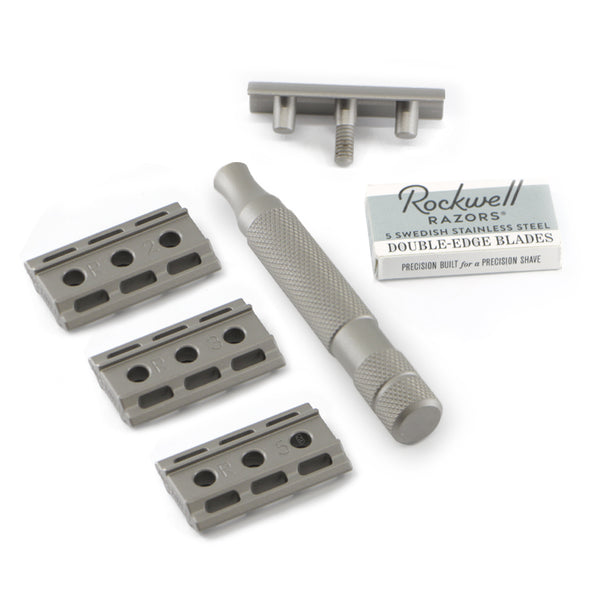 Rockwell 6S Safety Razor Stainless Steel