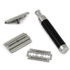Muhle ROCCA R96 Safety Razor Stainless Steel Black
