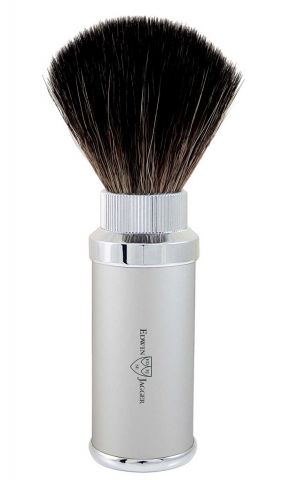Edwin Jagger Travel Synthetic Shaving Brush Chrome Plated 21M5290CR
