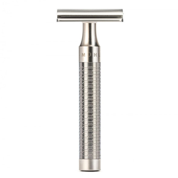 Muhle ROCCA R94 Safety Razor & Synthetic Silvertip Fibre Shaving Set