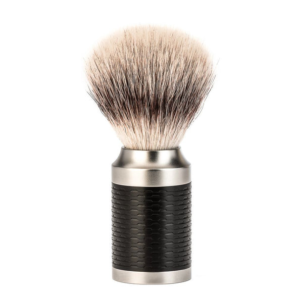 Muhle ROCCA Synthetic Silvertip Fibre Brush Black 31 M 96
