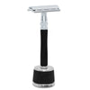 Feather WS-D2S Safety Razor Wood Handle & Stand