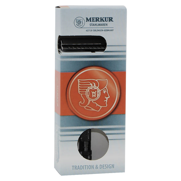 Merkur 23C Safety Razor Long Handle Black