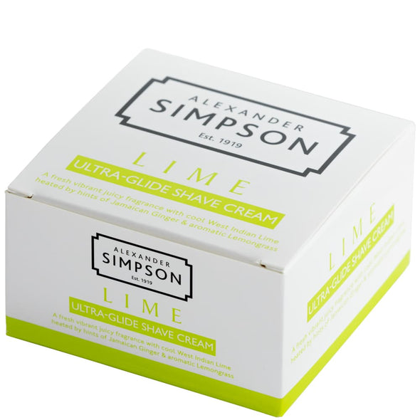 Alexander Simpson Lime Ultra-Glide Shaving Cream 180ml