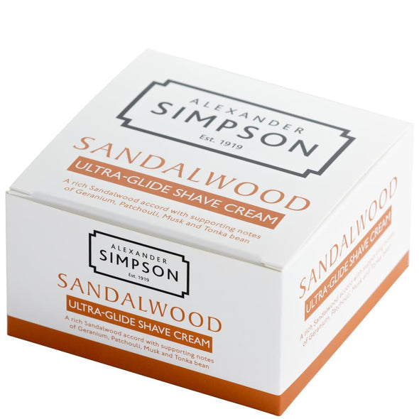 Alexander Simpson Sandalwood Ultra-Glide Shaving Cream 180ml