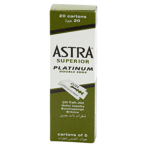 Astra Superior Platinum Double Edge Blades (100)