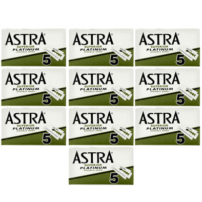 Astra Superior Platinum Double Edge Blades (50)