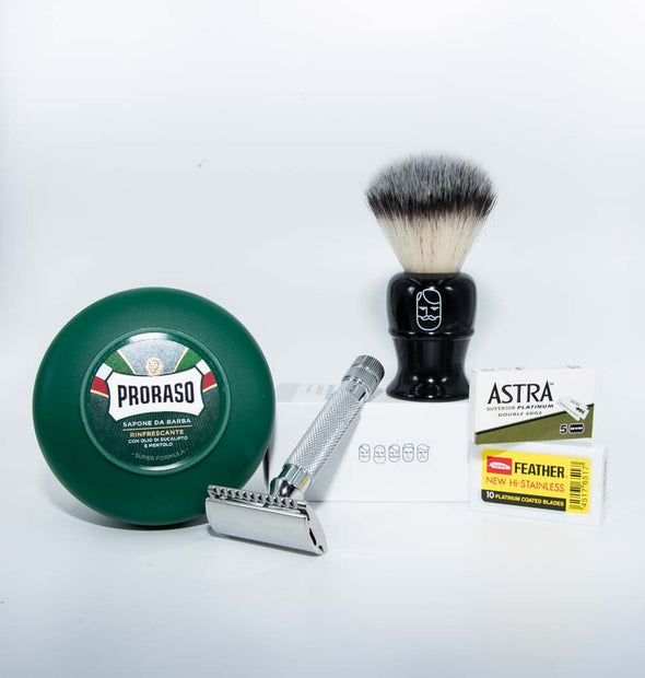 Beard & Blade Classic Safety Razor Shaving Kit