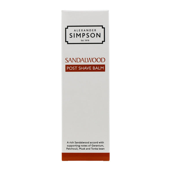 Alexander Simpson Sandalwood Post Shave Balm 100ml