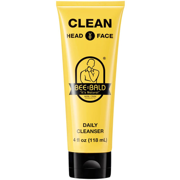 Bee Bald CLEAN Head & Face Daily Cleanser 118ml