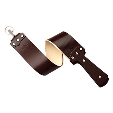 "Ezra Arthur English Bridle Leather Strop 2.5"" Brown"