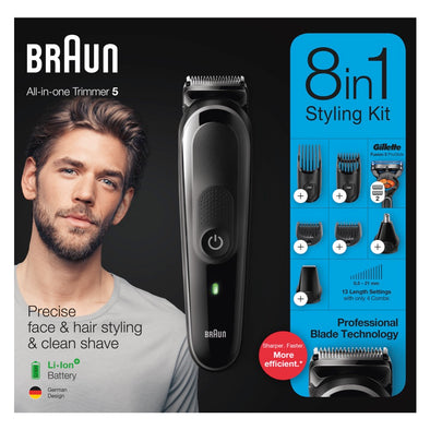 Braun MGK5260 Beard Trimmer Front Box