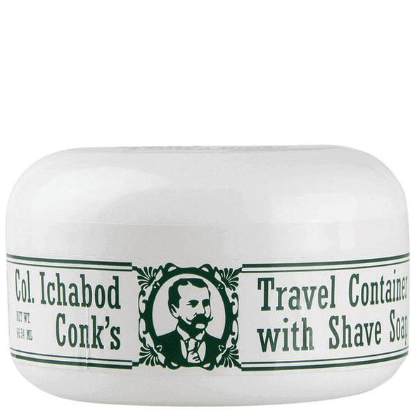 Colonel Conk Bay Rum Glycerine Shaving Soap & Tub 64g