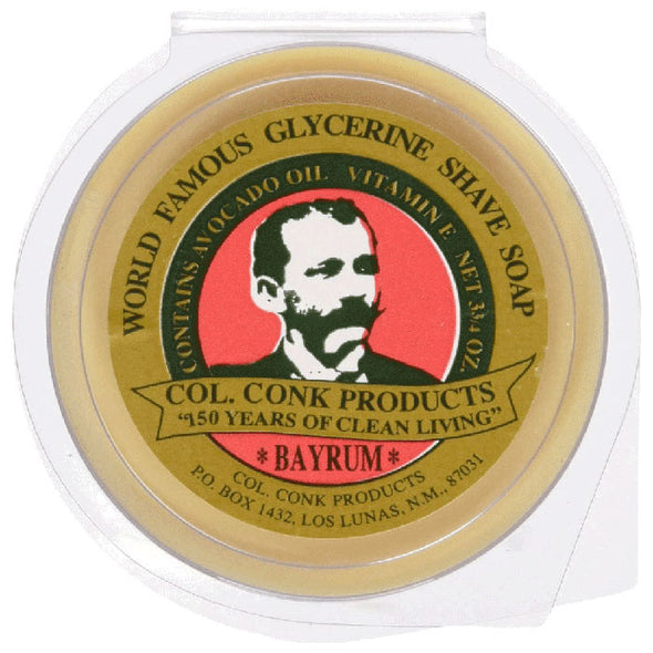 Colonel Conk Bay Rum Glycerine Shaving Soap 106g