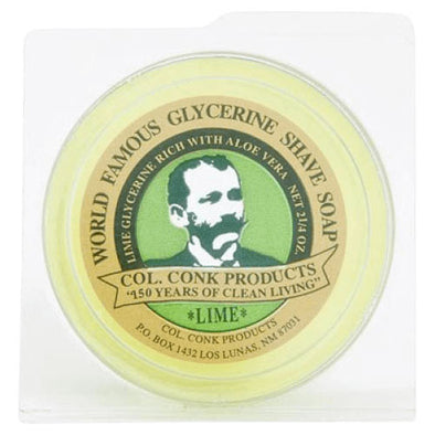 Colonel Conk Lime Glycerine Shaving Soap 64g