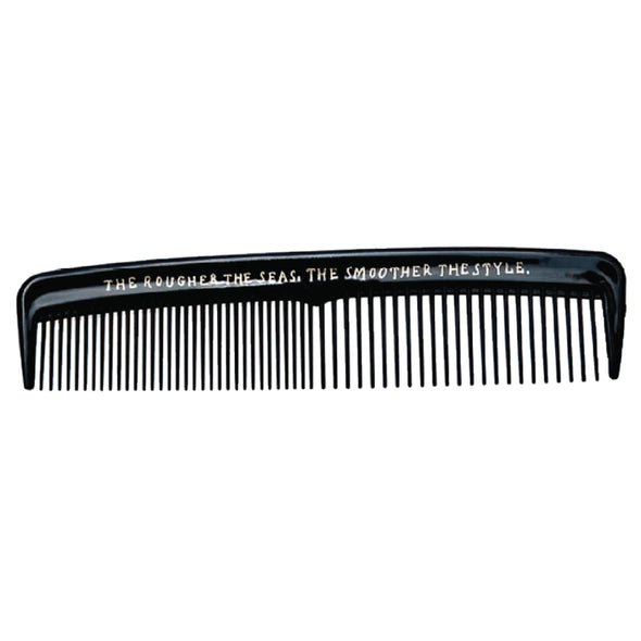 Modern Pirate Pocket Hair Comb Wide & Fine Tooth 125mm