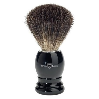 Edwin Jagger Best Badger Shaving Brush Black 81P26