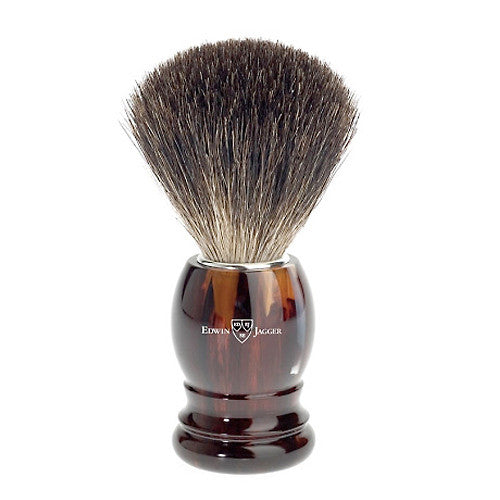 Edwin Jagger Best Badger Shaving Brush Tortoiseshell 81P23