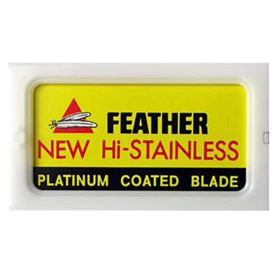 Feather Hi-Stainless Double Edge Blades (10)