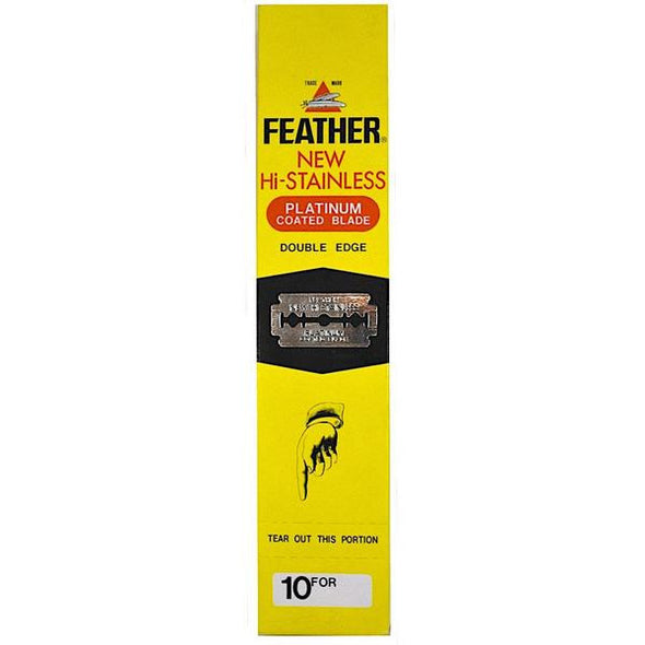 Feather Hi-Stainless Double Edge Blades (200)