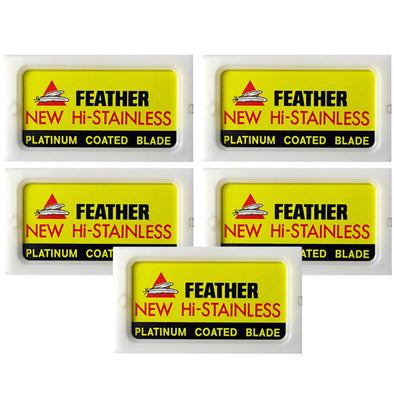 Feather Hi-Stainless Double Edge Blades (50)