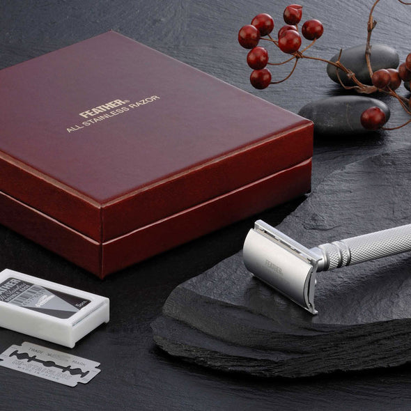 Feather AS-D2 Safety Razor Stainless Steel