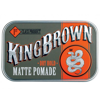 King Brown Matte Pomade 70g