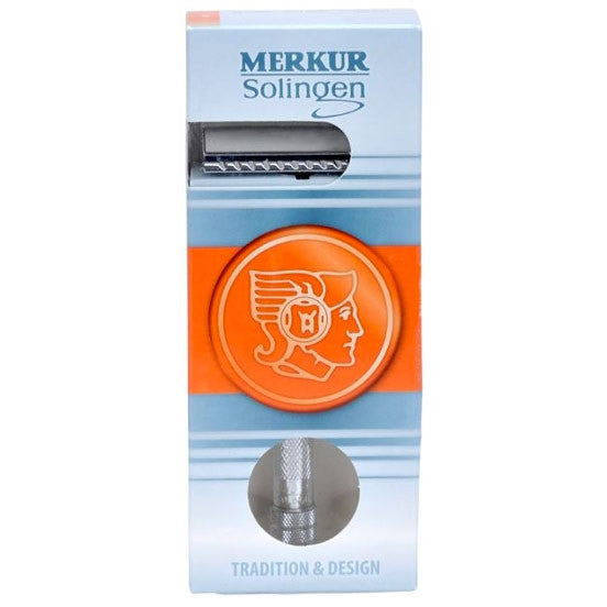 Merkur 23C Safety Razor Long Handle Chrome
